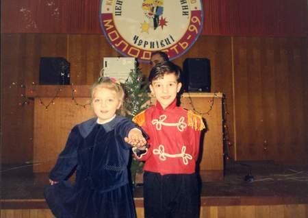 Игорь с Олесей, 1999