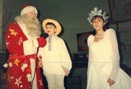 Игорь в костюме Ивасика-Телесика, 2000