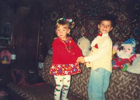 Игорь с Олей,1997